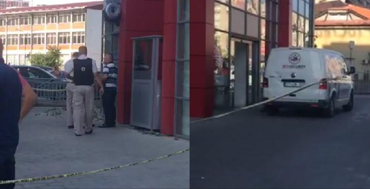 Pamje nga plaçkitja e armatosur në Prishtinë