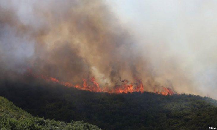 Gjendje e jashtëzakonshme për shkak të zjarreve në Maqedoni