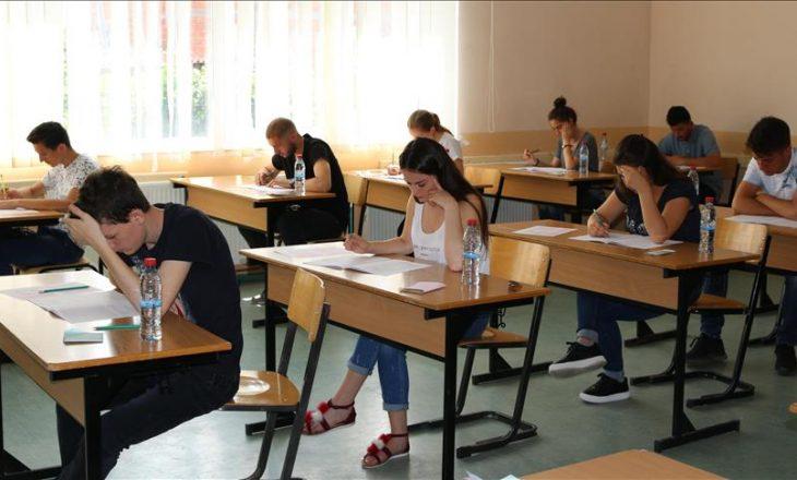 Gati për afatin e dytë të provimit shtetëror të maturës