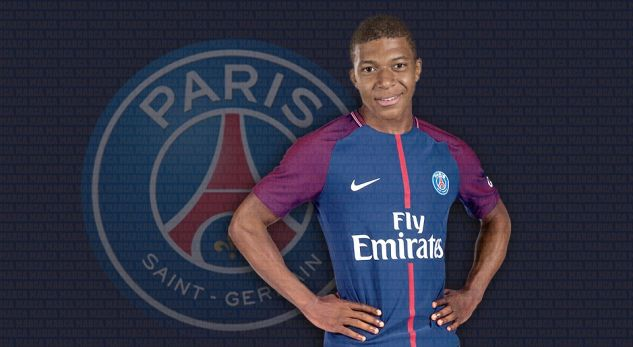 Mbappe bëhet futbollist i PSG-së