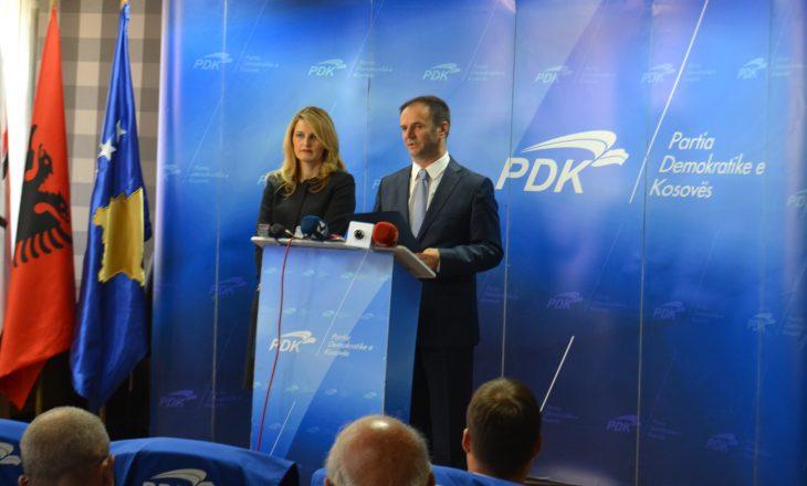 Ministrja e PDK-së krahason veprimet e Vetëvendosjes me ato të Hitlerit