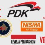 Partitë hyjnë në garën lokale pa koalicione