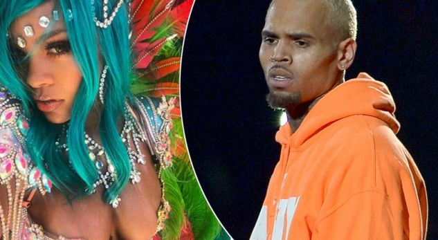 "Chris Brown i ""rikthehet"" Rihannas"