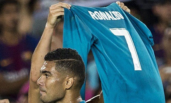 Ronaldo iu hakmor Messit për festën në Bernabeu