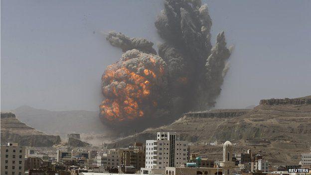 Sulm ajror në një hotel në Sana, vriten 30 persona