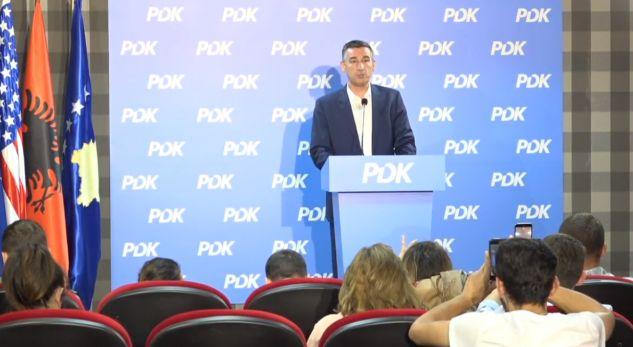 Kadri Veseli thotë se PDK do të dalë fituese nga zgjedhjet lokale