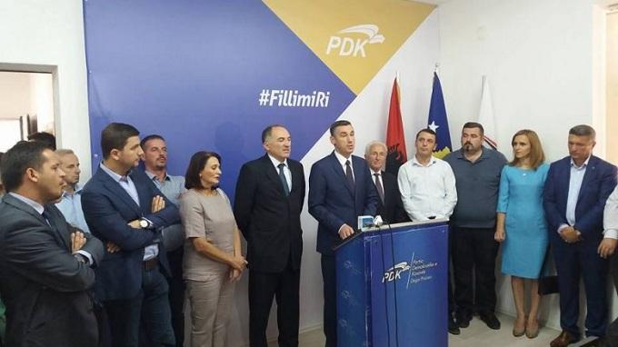 Shaqir Totaj, kandidat i PDK-së për kryetar komune në Prizren