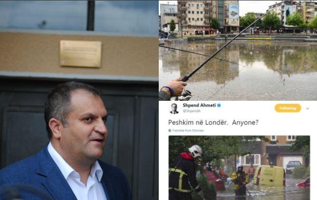 """Ahmeti thumbon PDK-në për aksionin ironizues në sheshin """"Zahir Pajaziti"""""""