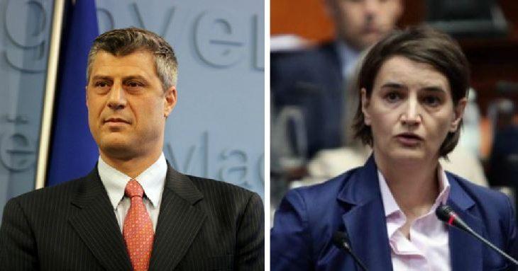 Thaçi dhe Brnabiq takohen me zëvendëspresidentin amerikanë në Podgoricë