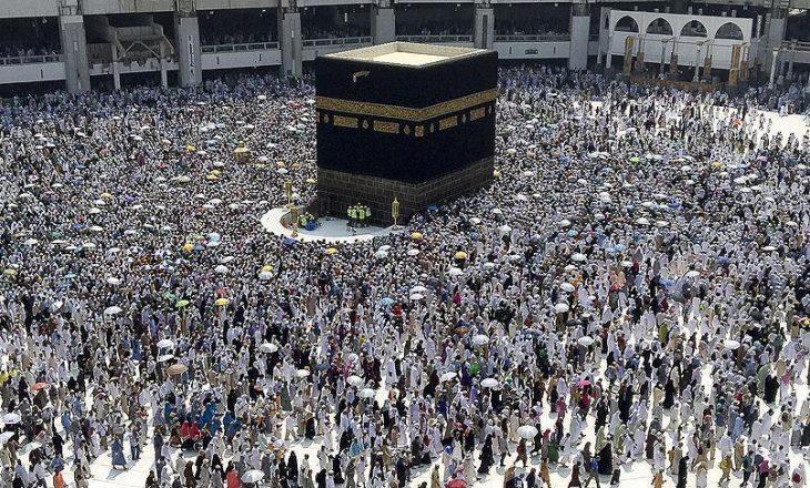 Rreth 31 të vdekur gjatë pelegrinazhit të Haxhit në Arabinë Saudite