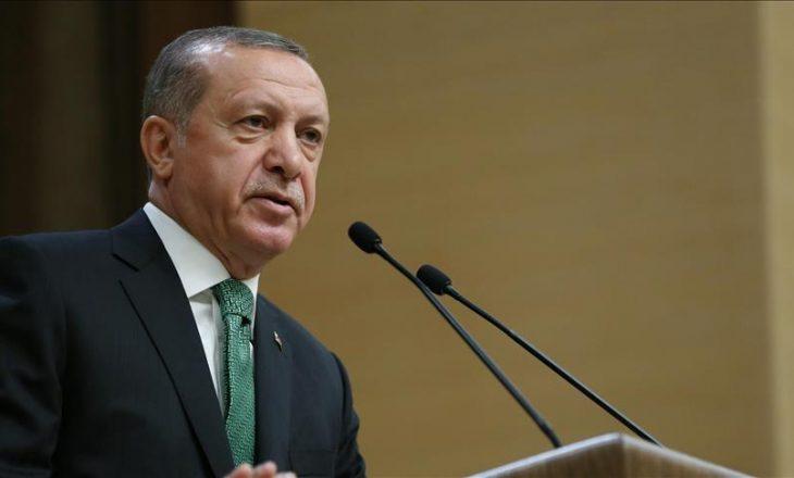 Erdogan: Në veri të Sirisë nuk lejojmë kurrë formimin e të ashtuquajturit shtet