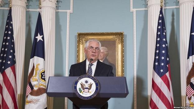 Tillerson rrit presionin mbi Pakistanin