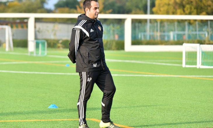 Ambiciet e trajnerit shqiptar me ekipin zviceran