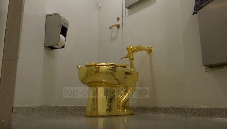 Një tualet prej floriri