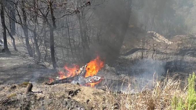 Gjen vdekjen nga zjarri që e ndezi për djegien e mbeturinave