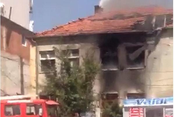 Digjet një shtëpi në Ferizaj