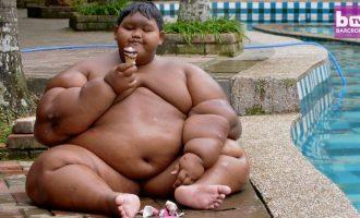 10 vjeçari që peshon 200 kilogramë