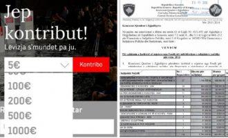 Marrin mbi gjysmë milioni euro nga shteti por VV vazhdon të kërkojë para nga qytetarët
