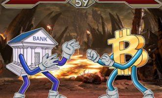 Bankat e mëdha kërkojnë shkatërrimin e Bitcoin, përpara se t`i shkatërrojë ato