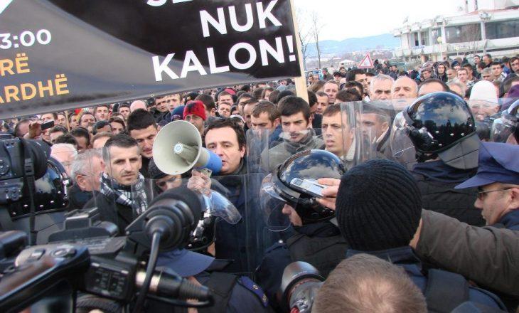 Lëvizja Vetëvendosja paralajmëron protesta