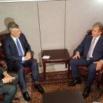 Thaçi takohet me presidentin e Bullgarisë, pati një kërkesë për të