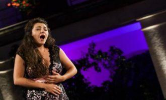 Elbenita Kajtazi, në koncertin e teatrit në Essen
