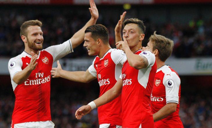 Arsenali luan të enjten pa 7 lojtarë kryesor