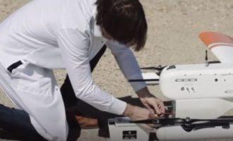 Transporti i parë me dron, barten analizat e gjakut 260 km (Video)
