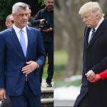Kur kosovarët flenë, Presidenti dhe zonja e parë takojnë çiftin Trump