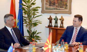 Gruevski tregon arsyen pse nuk e ka vizituar asnjëherë Kosovën