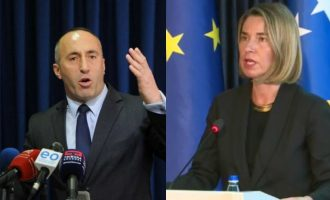 Haradinaj premton viza pa demarkacion, por harron deklaratën e qartë të Mogherinit