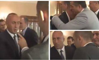 """""""Mos bo ashtu"""" – reagimi i Haradinajt ndaj gjestit të Bahtirit"""
