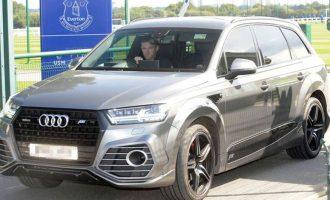 Rooney i dehur duke vozitur – ndalohet nga policia