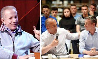 Deklarata qesharake e Pacollit: Jo koalicion me PDK-në por me Haradinajn