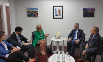 Thaçi kërkon përfshirjen e SHBA-ve në dialogun me Serbinë