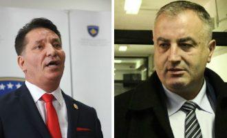 Lekaj dhe Berisha, ministrat e AAK-së