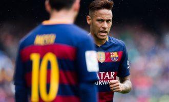 """""""Neymar u largua për shkak të Messit"""""""