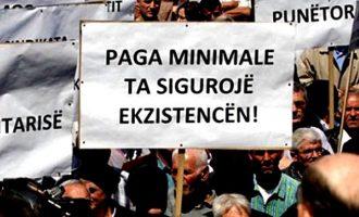 Kategorizimi i pagës minimale diskriminon punëtorët
