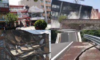 VIDEO: Pamje të tmerrshme pas tërmetit që tronditi Meksikën