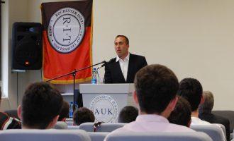 A keni ditur që Haradinaj ka diplomë master për Inovacion?