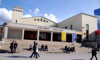 Policia siguron Teatrin Kombëtar, shkas një shfaqje