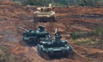 Dyshohet për incident në stërvitjet ushtarake ruse