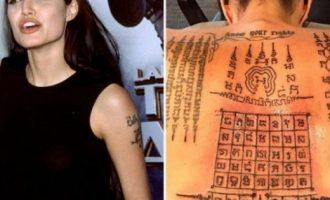 Angelina Jolie shpjegon kuptimin e tatuazheve në trupin e saj