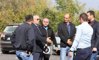 """Fatmir Gashi viziton fabrikën e ujit """"Drini i Bardhë"""""""