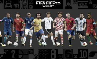FIFA zgjedh formacionin më të mirë të këtij viti