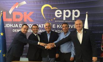 Hatim Baxhaku zyrtarizon mbështetjen e Partisë e Ashkalinjve për Integrim dhe Partisë Liberale