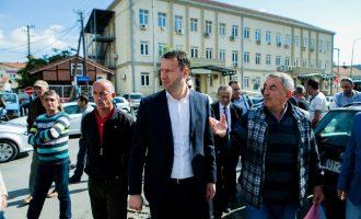 """Abrashi në """"Tophane"""" prezantoi projektin e subvencionimit të pagave"""