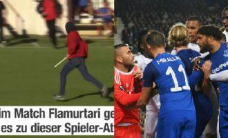 """""""Skena tronditëse"""" – me cilën ndeshje evropiane po krahasohet Flamurtari – Vëllaznimi?"""