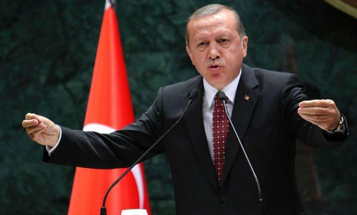 Erdogan kritikon vendet myslimane
