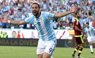 Zyrtare: Higuain lihet jashtë kombëtares së Argjentinës